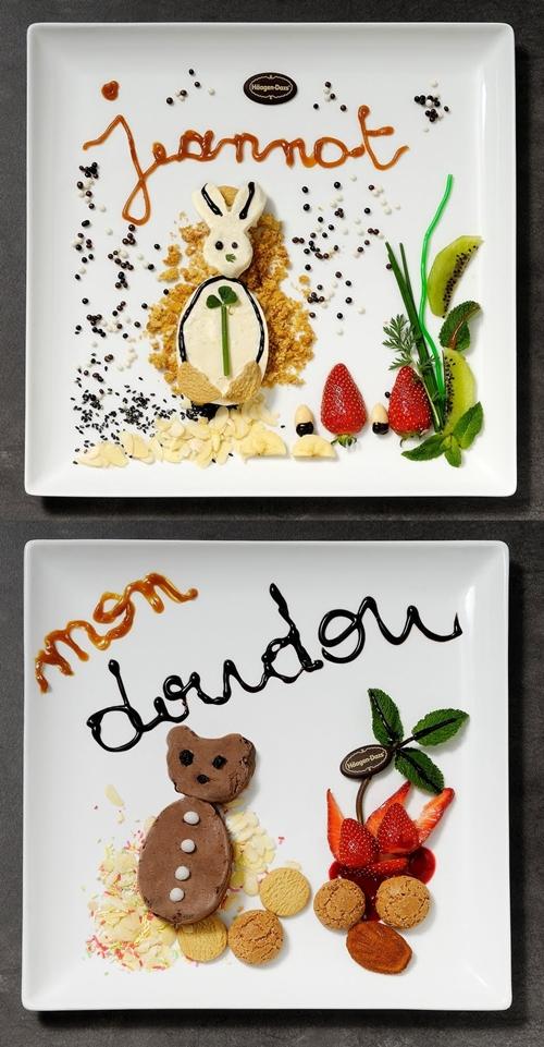 Postres infantiles divertidos: doudou helado