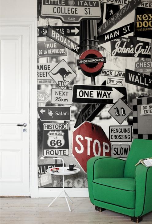 Murales en gran formato para habitaciones juveniles - Posters grandes para pared ...