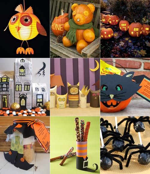 Las mejores ideas para fiestas infantiles de halloween - Decorar calabaza halloween ninos ...