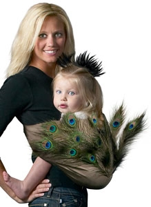 Ideas para convertir tu portabebé en un disfraz
