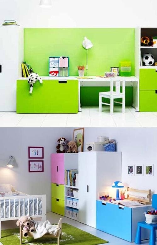Muebles infantiles stuva de ikea decopeques - Habitaciones para ninos ikea ...