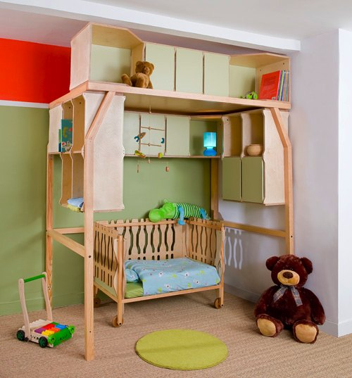 Dormitorios infantiles popspace por matali crasset - Dormitorios infantiles precios ...