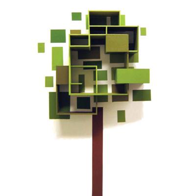 Clic clac foto … un árbol muy ordenadito