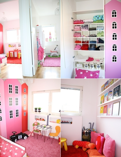Diy estanter as de ikea convertidas en casitas decopeques - Armarios infantiles originales ...