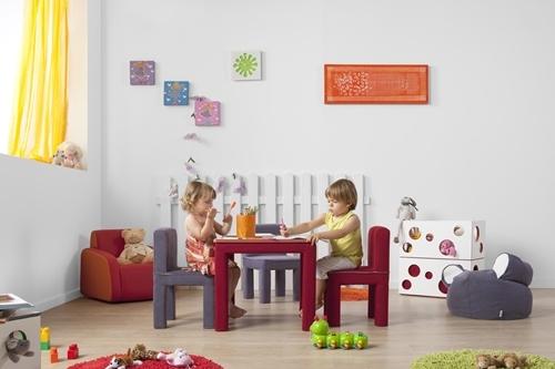 Muebles infantiles y puffs para niños