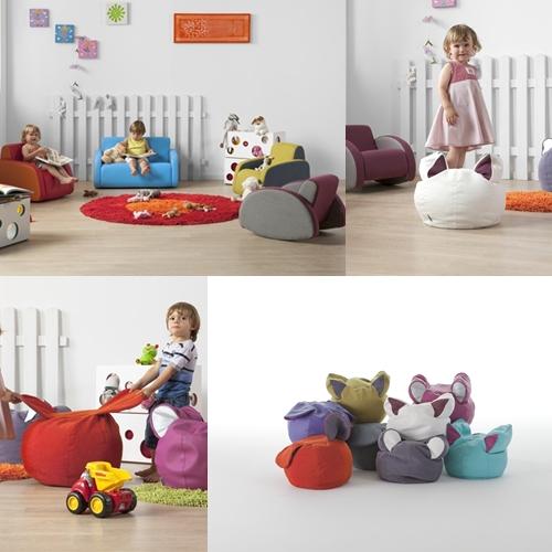 Muebles infantiles y puffs para ni os - Puffs para ninos ...