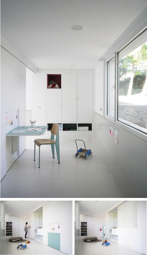 Habitación infantil convertible y polivalente