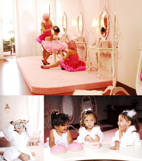 Espacios Cool para niños: Le Petite Spa en Miami