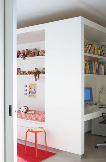 Estructuras cúbicas para Habitaciones infantiles