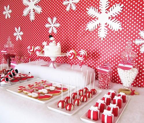 Fiesta infantil de navidad decopeques for Decoracion navidena para ninos