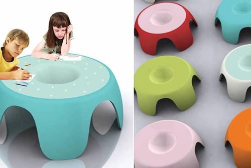 """La mesa infantil """"Mawi"""", ganadora en los premios Corian de diseño"""
