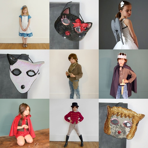 Disfraces infantiles modernos y chic
