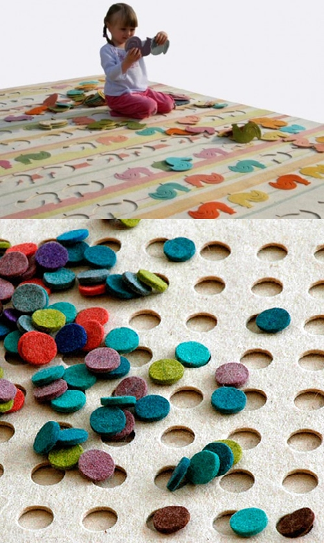 Alfombras infantiles interactivas puzzle decopeques - Alfombra actividades bebe ...