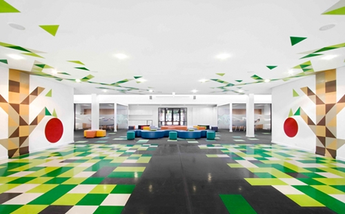 Espacios cool para ni os st mary 39 s primary decopeques for The interior design institute