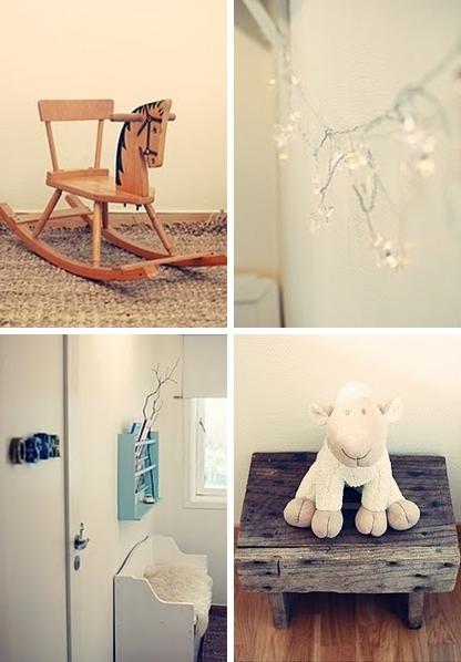 Decorar la habitaci n infantil en blanco decopeques - Habitaciones infantiles azules ...