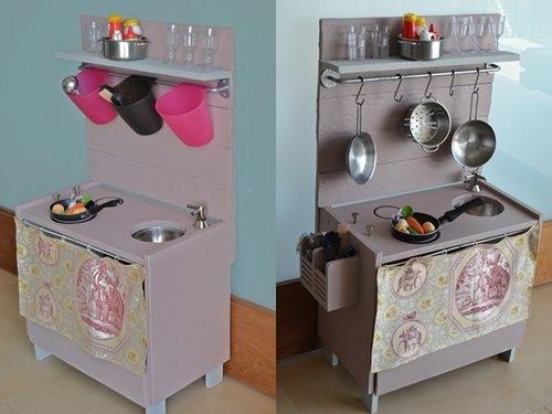 Cocinitas de juguete en madera para ni os - Como hacer cocinita de madera ...