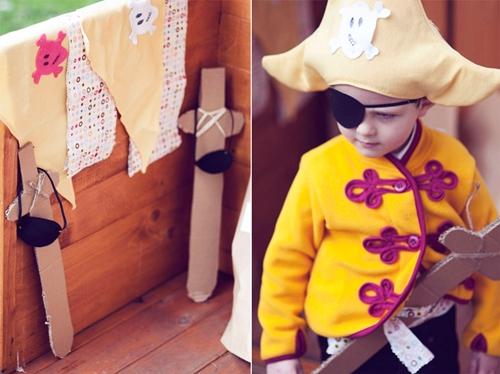 Fiesta infantil Piratas