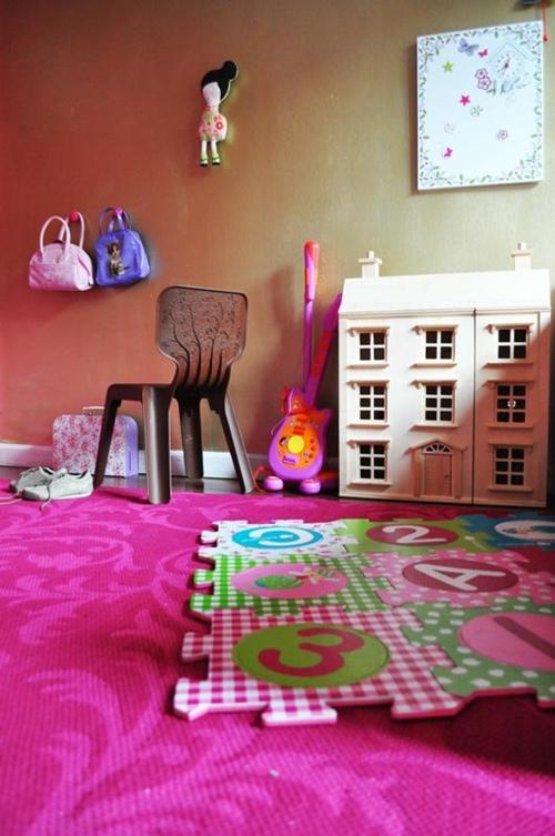 Habitacion infantil para ni as en rosa - Fotos de los cuartos mas bonitos del mundo ...
