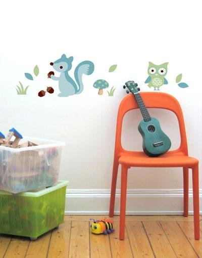 Ideas creativas de decoración infantil con pegatinas