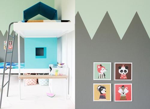 Literas infantiles con forma de casita - Camas de casita para ninas ...