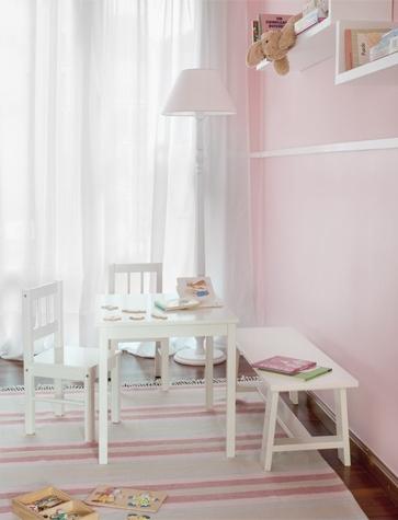 Dormitorios para ni as en rosa for Dormitorio nina 2 anos