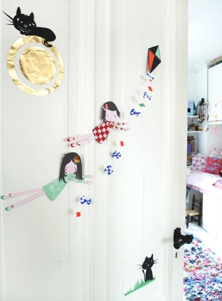 La puerta de la habitación infantil