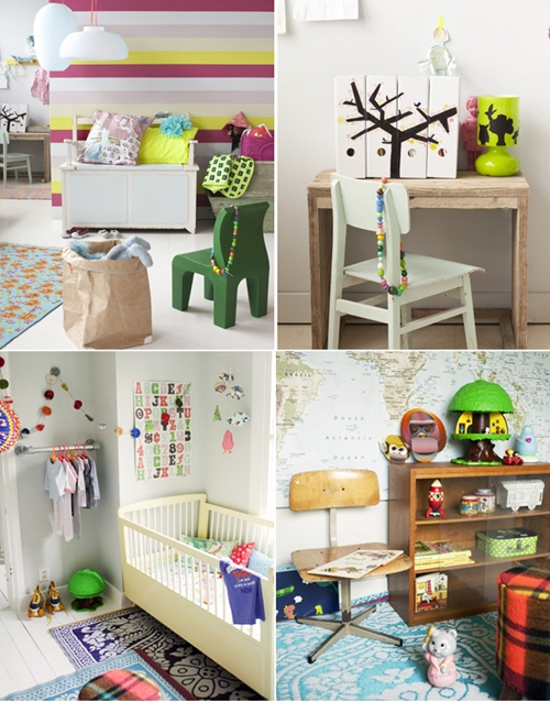 M s ideas para decorar el dormitorio infantil decopeques for Ideas para decorar paredes infantiles