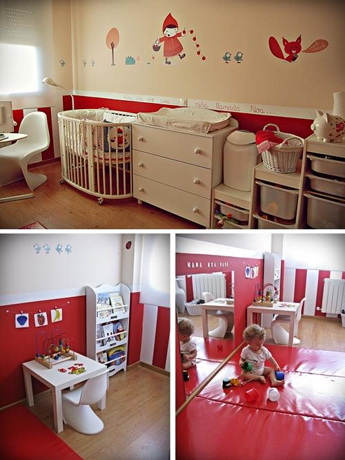 Una habitación infantil de diseño para Noa