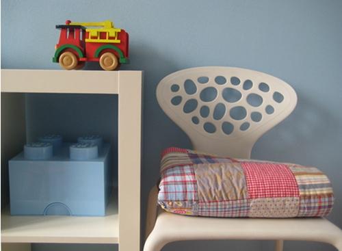 Decorar la habitaci n infantil - Habitaciones infantiles azules ...