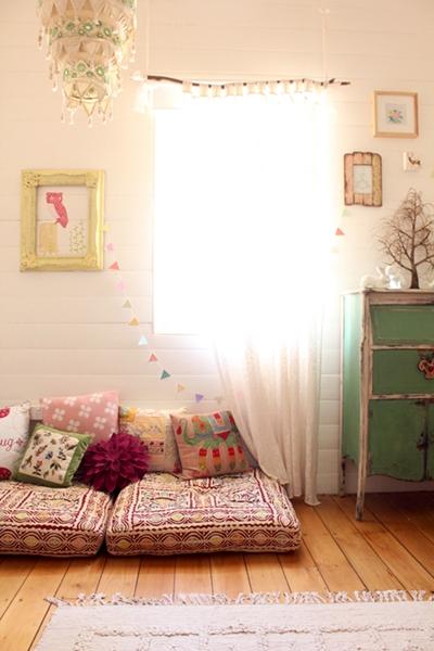 Un dormitorio infantil diferente para Eulalia