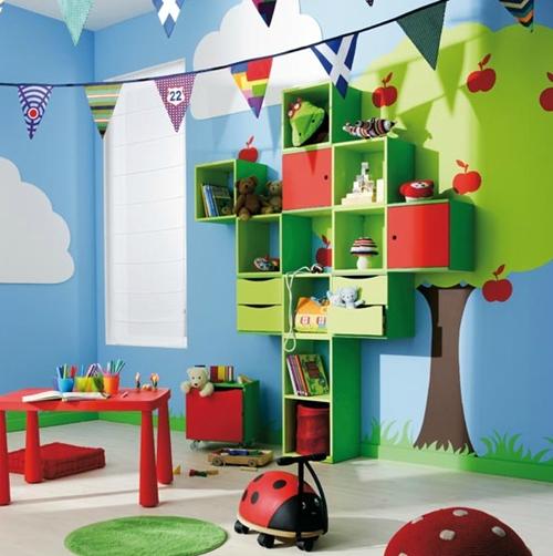 Orden e ingenio en la habitacin infantil DecoPeques