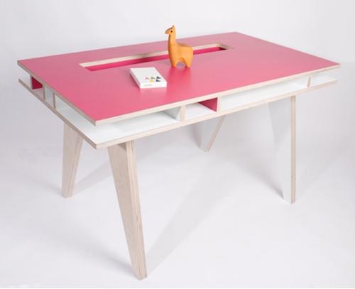 Mesa escritorio de dise o infantil y juvenil for Escritorio infantil