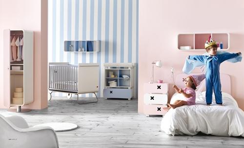 Nuevas propuestas de decoración infantil de Mobiliario Be