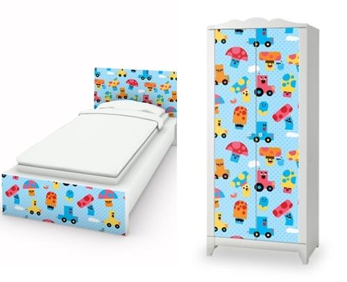 Personalizar muebles ikea con vinilos y stikers for Vinilos muebles infantiles