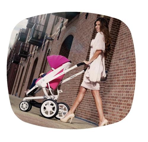 Los nuevos carrito de bebé y sillita ultraligera de Quinny.