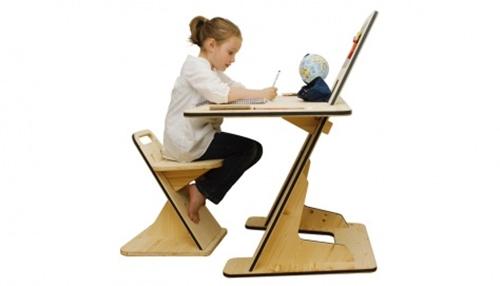 AZdesk, un escritorio infantil evolutivo.