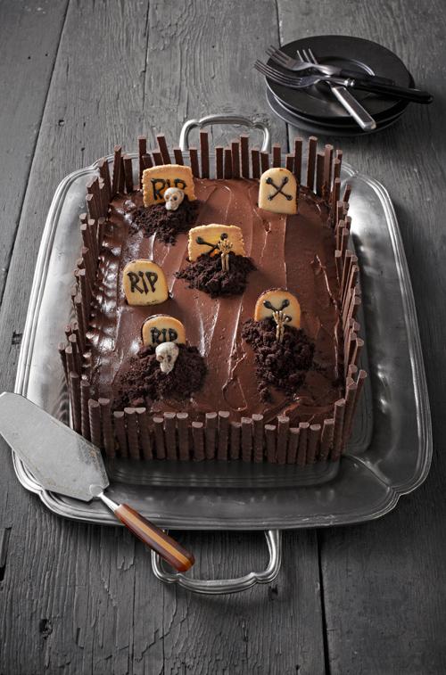 Tartas terroríficas para Halloween