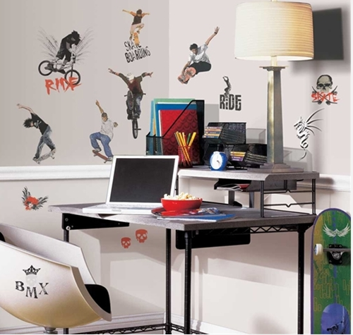 Vinilos juveniles para decorar la habitacion for Bmx bedroom ideas