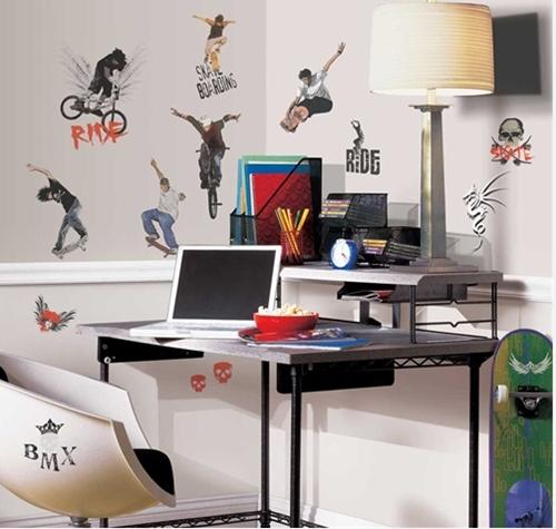 Vinilos juveniles para decorar la habitacion - Vinilos pared juveniles ...
