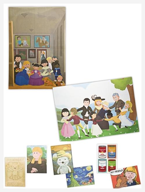 Cuadros infantiles de Imaginarium- Grandes clásicos de la pintura