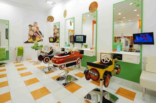 Espacios cool, las peluquerías para niños de FashionKids