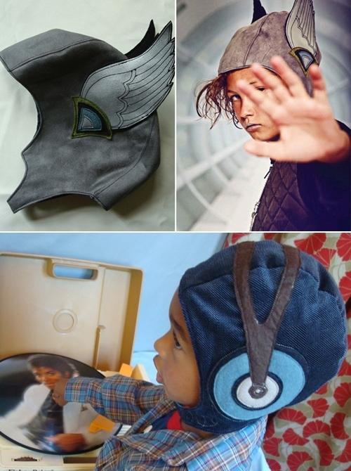 Descubriendo Etsy: Gorros con fuerte personalidad