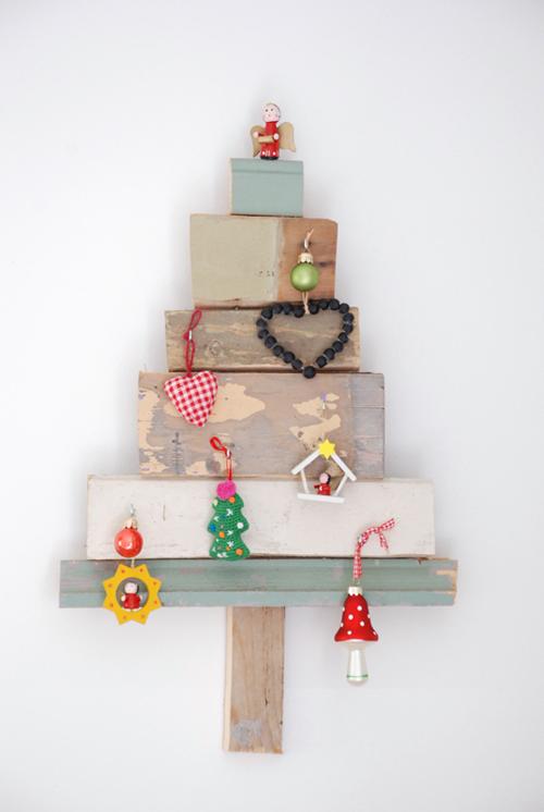 Arboles De Navidad Vintage Decopeques - Vintage-navidad