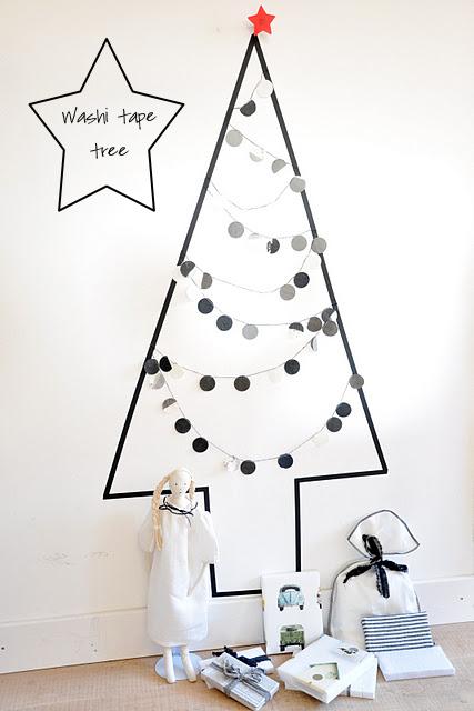 Arbol de Navidad Washi Tape