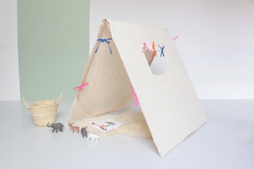 Casitas para ni os en tela - Casas de tela para ninos ...