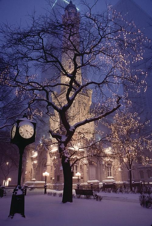 Cómo fotografiar las luces de Navidad