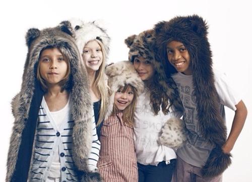 Accesorios calentitos y cool para niños… Spirithoods Kids