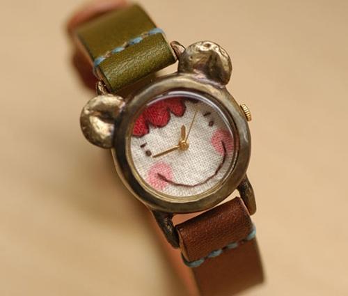 Relojes infantiles con un aire vintage.