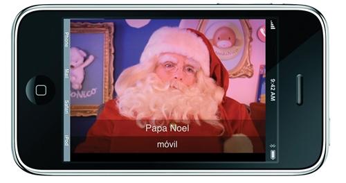Hola, soy Papa Noel ¿Está Pedro?