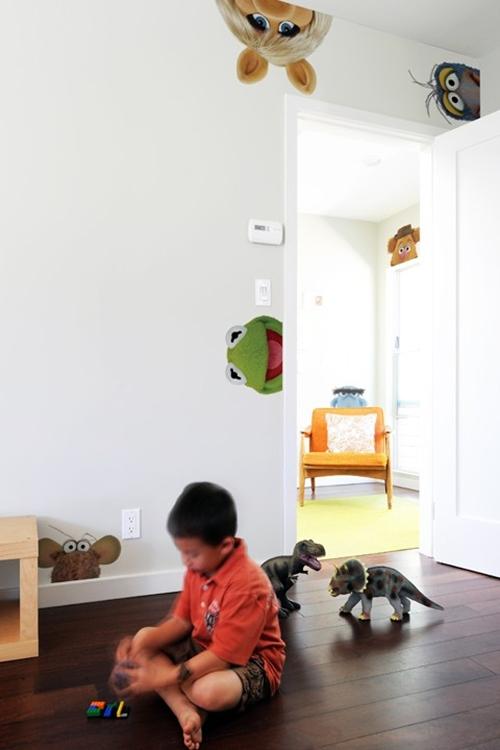 Vinilos infantiles de Blik con los Teleñecos.